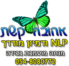 אהובה קשת NLP MASTER,NLP מאמרים